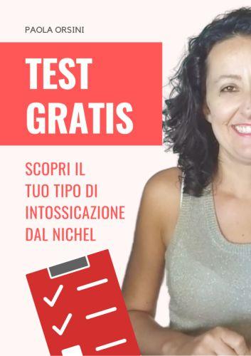 test per tipo di intossicazione da nichel