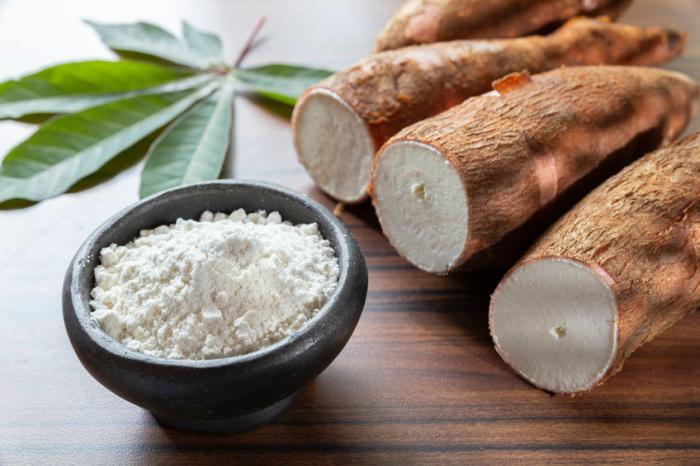 esempi di tubero di manioca